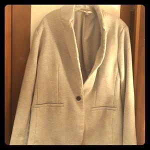 Grey jacket or worn as blazer